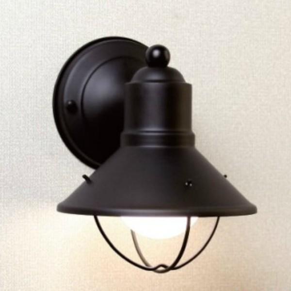 【代引不可】【メーカー直送】ウォールマウントライト ベーシック K-9021 ブラック(白熱球)