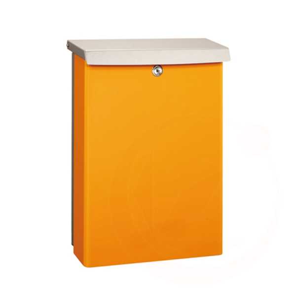 【送料無料】【代引不可】【メーカー直送】Buono ボーノ(オレンジ)壁掛けポスト