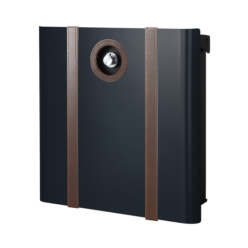 【代引不可】【メーカー直送】ポスト ヴァリオ ネオ ボルサ Type01-2 壁掛けタイプ (ダイヤル錠付) (ブラックマット) NA1-OAO12BM