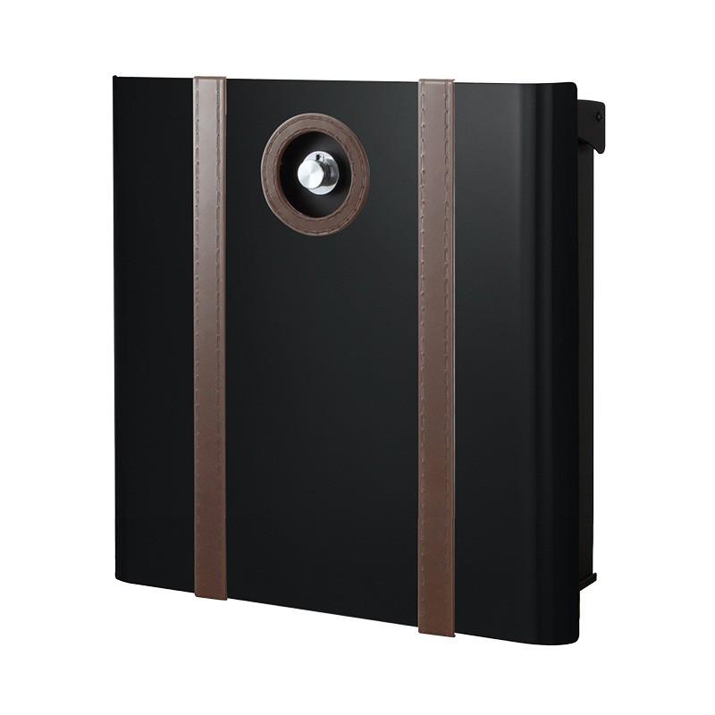 【代引不可】【メーカー直送】ポスト ヴァリオ ネオ ボルサ Type01-2 壁掛けタイプ (ダイヤル錠付) (グロスブラック) NA1-OAO12GB