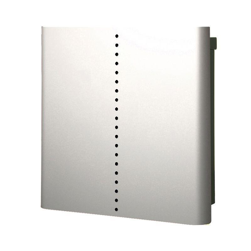 【代引不可】【メーカー直送】ポスト ヴァリオ ネオ ミュート 壁掛けタイプ (鍵無し) (シルバー) NA1-ON18SI
