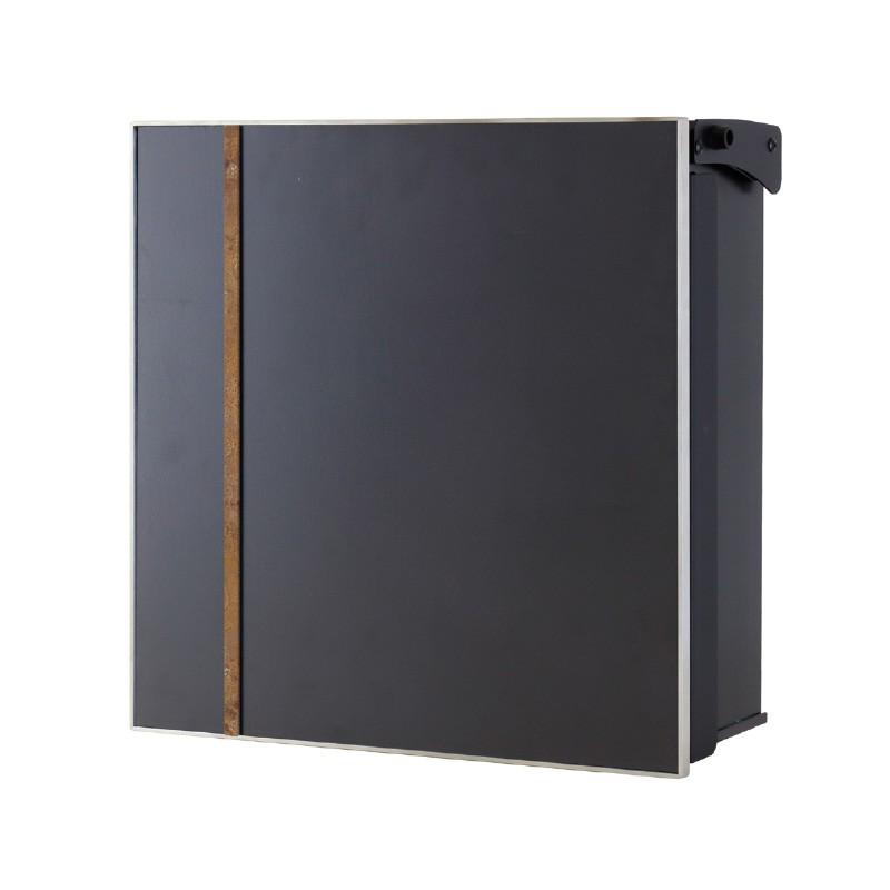 【代引不可】【メーカー直送】ポスト ヴァリオ ネオ アクシデント Type03 壁掛けタイプ (鍵無し) (斑紋茶褐色) NA1-ONO03CH