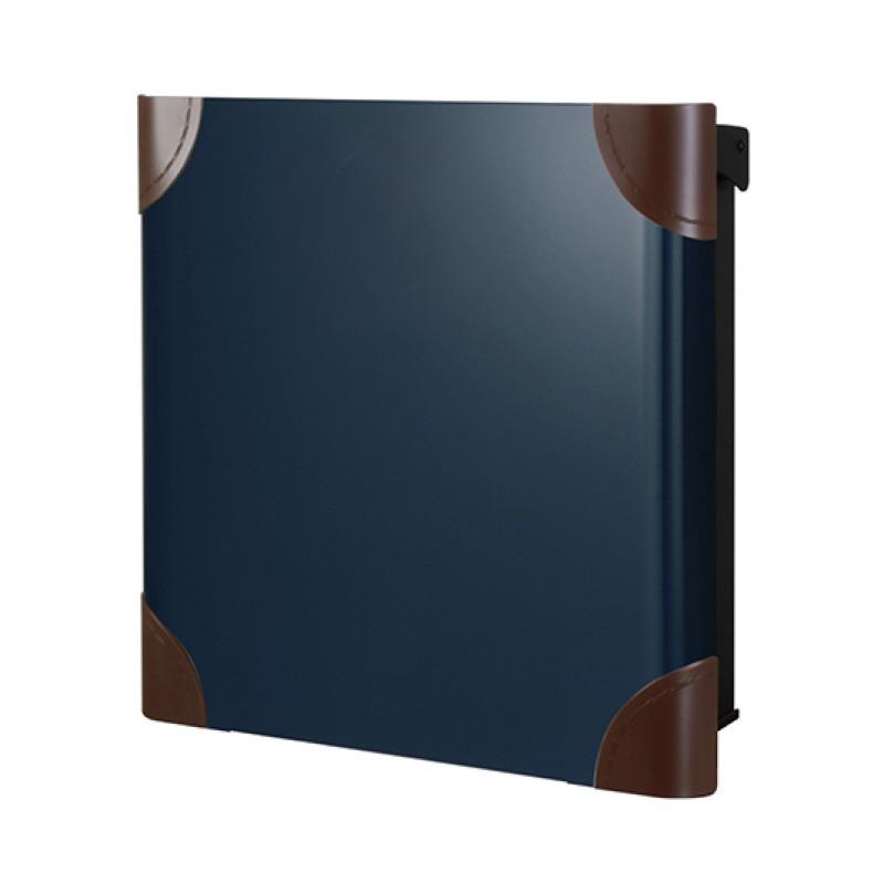 【代引不可】【メーカー直送】ポスト ヴァリオ ネオ ボルサ Type01-1 壁掛けタイプ (鍵無し) (ナイトブルー) NA1-ONO11NB