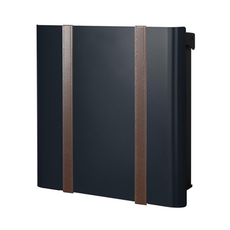 【代引不可】【メーカー直送】ポスト ヴァリオ ネオ ボルサ Type01-2 壁掛けタイプ (鍵無し) (グロスブラック) NA1-ONO12GB
