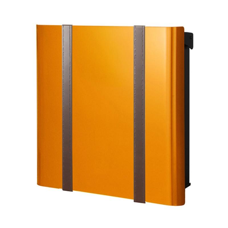 【代引不可】【メーカー直送】ポスト ヴァリオ ネオ ボルサ Type01-2 壁掛けタイプ (鍵無し) (オレンジ) NA1-ONO12OR