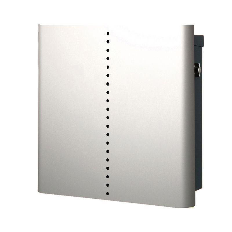 【代引不可】【メーカー直送】ポスト ヴァリオ ネオ ミュート 壁掛けタイプ (T型カムロック付) (シルバー) NA1-OT18SI