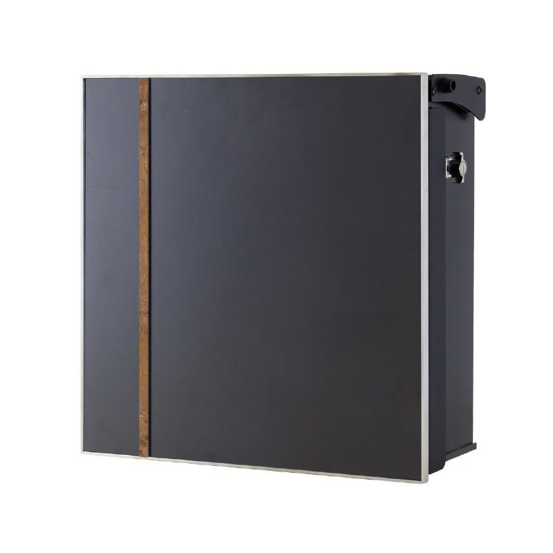 【代引不可】【メーカー直送】ポスト ヴァリオ ネオ アクシデント Type03 壁掛けタイプ (T型カムロック付) (斑紋茶褐色) NA1-OTO03CH
