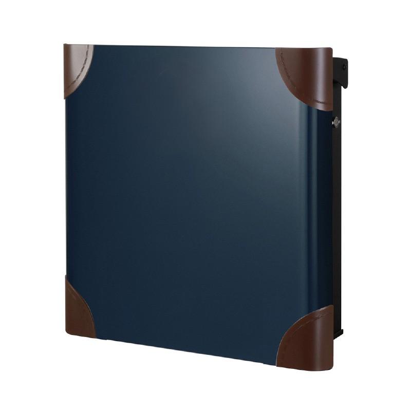 【代引不可】【メーカー直送】ポスト ヴァリオ ネオ ボルサ Type01-1 壁掛けタイプ (T型カムロック付) (ナイトブルー) NA1-OTO11NB