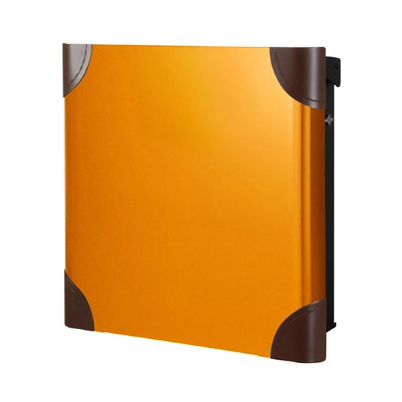 【代引不可】【メーカー直送】ポスト ヴァリオ ネオ ボルサ Type01-1 壁掛けタイプ (T型カムロック付) (オレンジ) NA1-OTO11OR