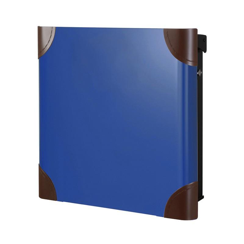 【代引不可】【メーカー直送】ポスト ヴァリオ ネオ ボルサ Type01-1 壁掛けタイプ (T型カムロック付) (ロイヤルブルー) NA1-OTO11YB