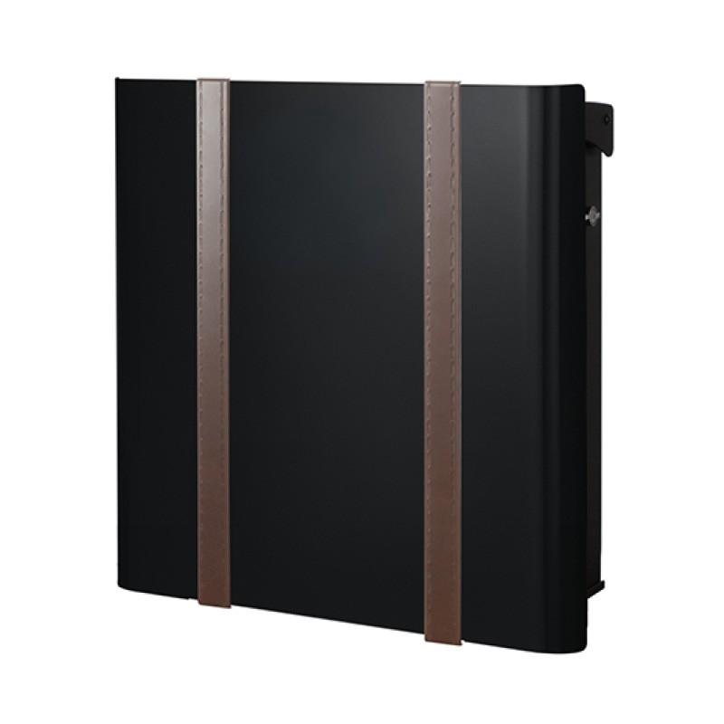 【代引不可】【メーカー直送】ポスト ヴァリオ ネオ ボルサ Type01-2 壁掛けタイプ (T型カムロック付) (ブラックマット) NA1-OTO12BM