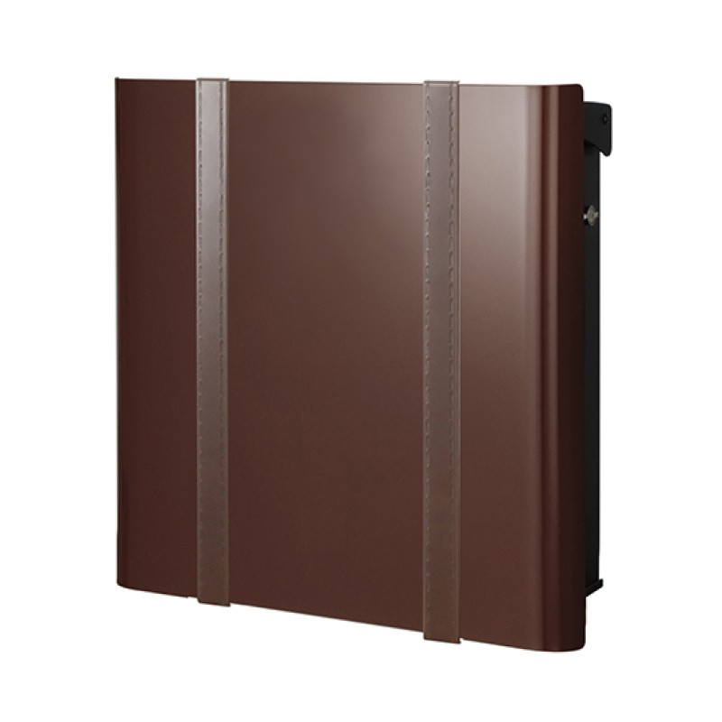 【代引不可】【メーカー直送】ポスト ヴァリオ ネオ ボルサ Type01-2 壁掛けタイプ (T型カムロック付) (フォレストブラウン) NA1-OTO12FB