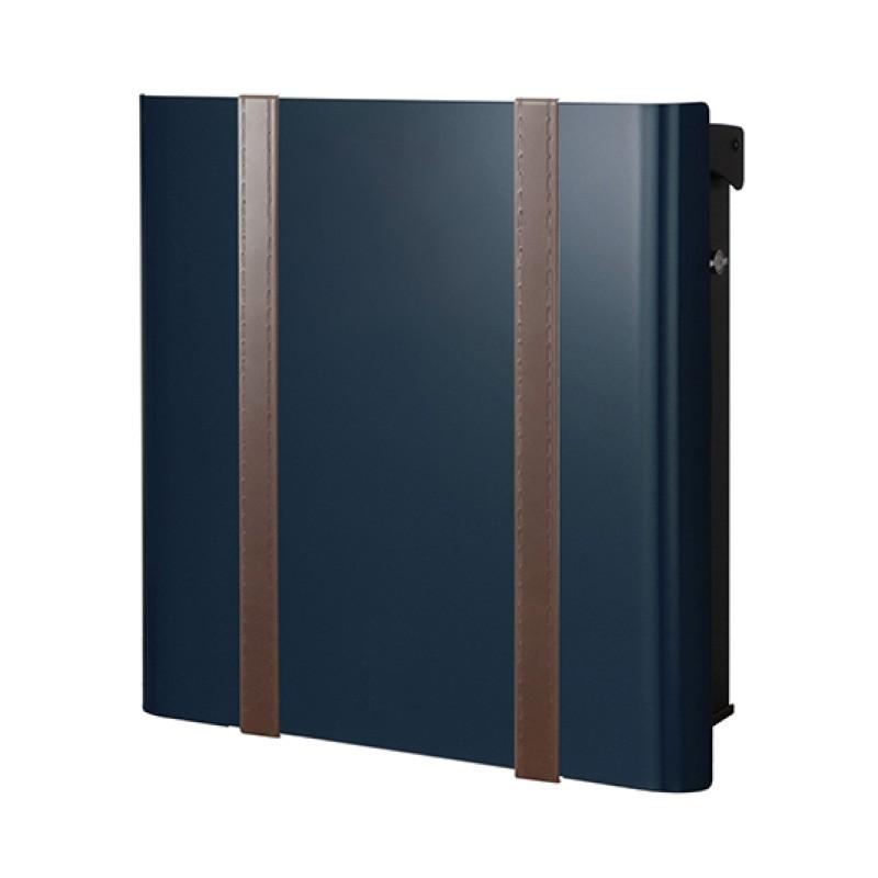 【代引不可】【メーカー直送】ポスト ヴァリオ ネオ ボルサ Type01-2 壁掛けタイプ (T型カムロック付) (ナイトブルー) NA1-OTO12NB