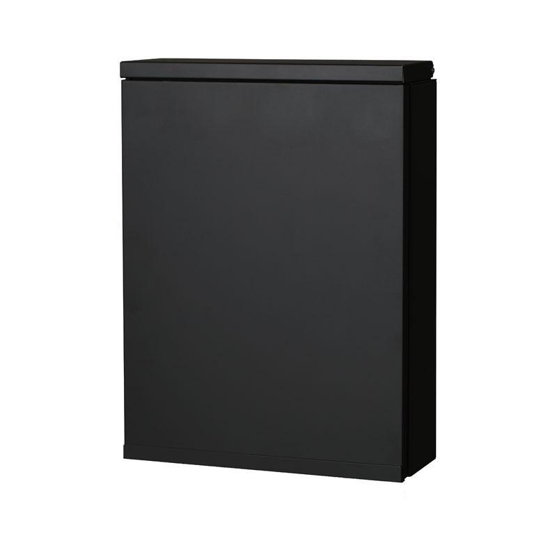 【代引不可】【メーカー直送】ポスト アイル (ブラック) NL1-P57BK
