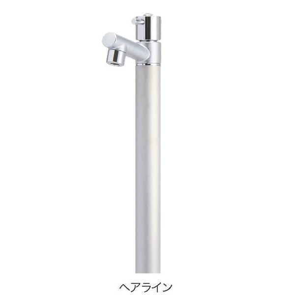 【送料無料】【代引不可】【メーカー直送】ガーデン水栓柱のみ ジラーレ×カラー:ヘアライン色 1口水栓