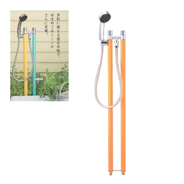 【送料無料】【代引不可】【メーカー直送】ガーデン水栓柱 ジラーレ デュエ type B(単色セット)