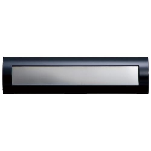 【送料無料】【代引不可】【メーカー直送】i-Line アイラインタイプR ブラック×ステンレス (切り込み120mm)