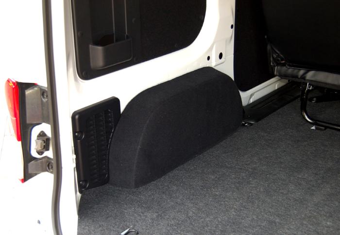 NV200バネット/荷室タイヤハウスカバーセット