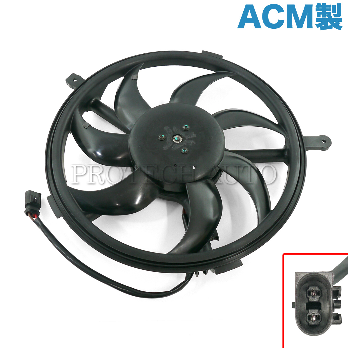 純正OEM ACM製 BMW MINI ミニ R56 R55 R57 R58 R59 R60 R61 JCW Cooper ALL4 CooperS One 電動ファン/ラジエーターファン/ブロアファン 17422754854【あす楽対応】