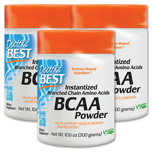 BCAA パウダー 300g/サプリメント/サプリ/ダイエット・健康/健康サプリ/BCAA配合/アミノ酸/BCAA/パウダー/Doctor's Best