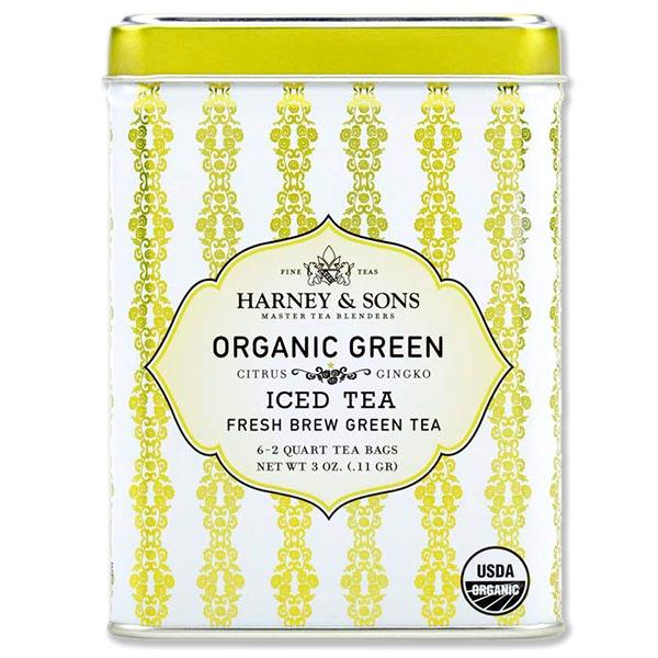 英国ロンドンでAfternoonTea賞を受賞 大人気の紅茶 Organic Green 送料無料限定セール中 with Coconut Tea 至高 Iced 3oz 6 bags