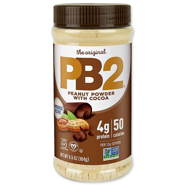 スムージーやシェイクなど幅広く活躍 激安 激安特価 送料無料 ピーナッツバターパウダー チョコレート 184g Foods PB2 6.5oz 贈答品 ピービー2フーズ