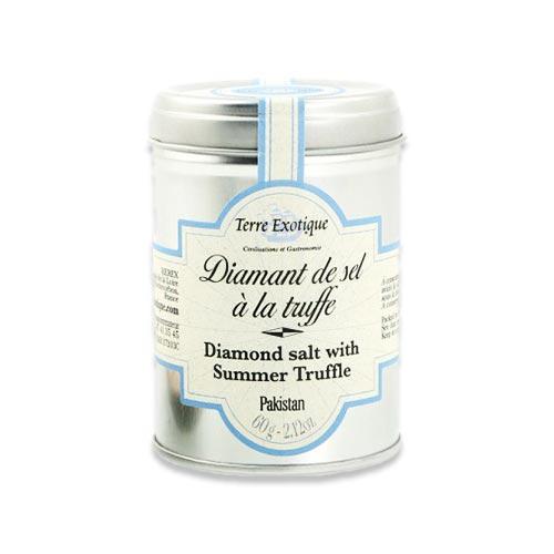 ひとふりで食卓にサマートリュフの味わいを ピンクファインダイアモンド トリュフソルト 2.1 テール 出荷 5☆大好評 oz エグゾチック 60g