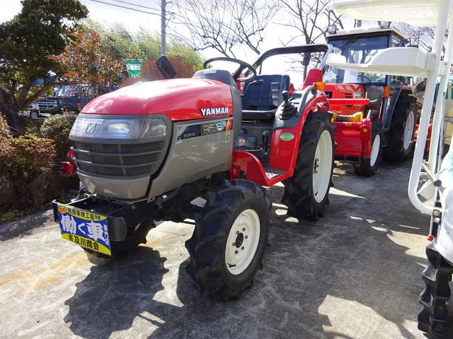 日本 ヤンマー トラクター AF18(日本その他)【中古】