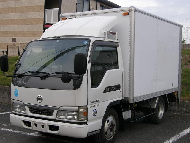 アトラストラック フルスーパーロー 3トン積み パワーゲート バックカメラ(日産)【中古】