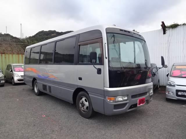 シビリアンバス マイクロバス 28人乗り 電動スライドドア エアコン(日産)【中古】