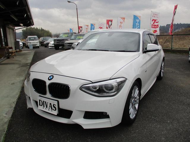 BMW 116i Mスポーツ 純正ナビ 地デジ ETC 17AW(BMW)【評価書付】【中古】