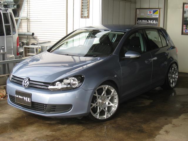 VW ゴルフ TSI KW車高調 AS鍛造19 ストップテック4Pブレーキ(フォルクスワーゲン)【評価書付】【中古】