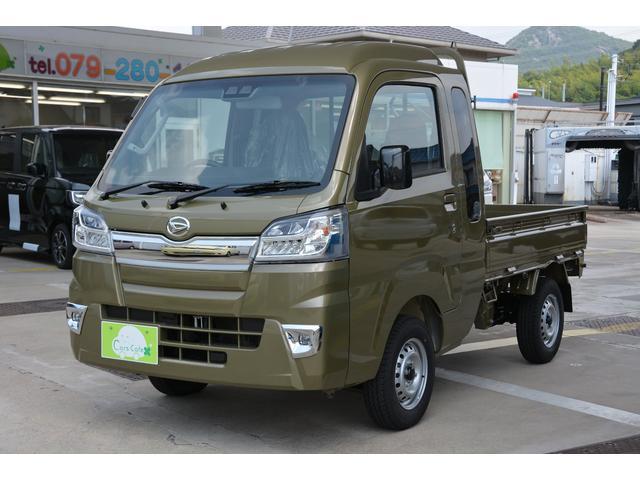 ハイゼットトラック ジャンボSAIIIt 4WD5MTブルーレイ搭載ナビETC付(ダイハツ)