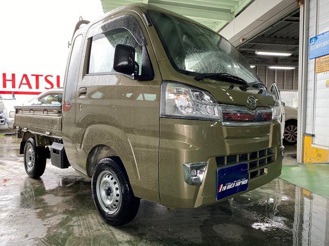 ハイゼットトラック ジャンボSAIIIt 4WD 純正ドアバイザー フロアマット(ダイハツ)【中古】