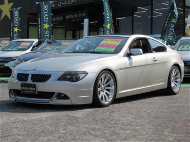 BMW 645CI サンルーフ HDDナビ ETC 本革シート(BMW)【中古】