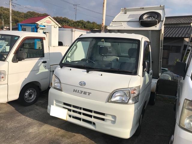 ハイゼットトラック 4WD AC MT 軽トラック 2名乗り ホワイト PS(ダイハツ)【中古】