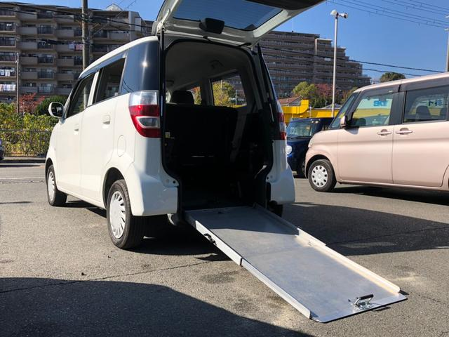 ゼスト G車いす仕様車リアシート付きタイプ スローパー ベンチシート(ホンダ)【中古】