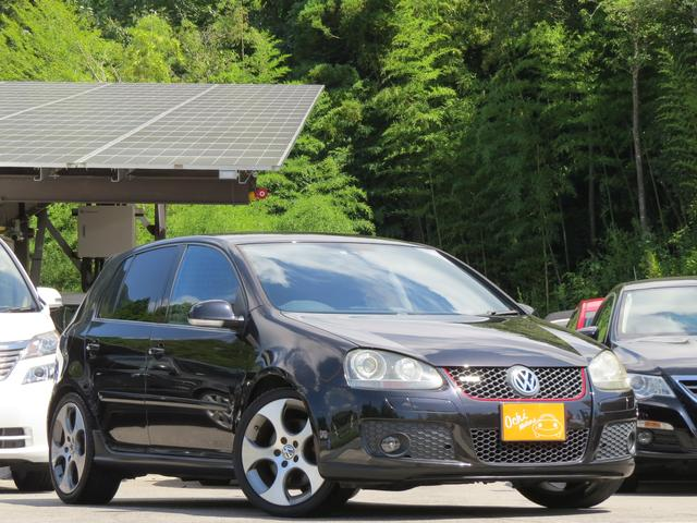 VW ゴルフ GTI DSG 車検受け渡し・18インチアルミ・レザーシート(フォルクスワーゲン)【評価書付】【中古】