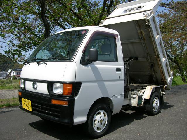 ハイゼットトラック ダンプ 強化ボデー 4WD 5速ミッション(ダイハツ)【中古】