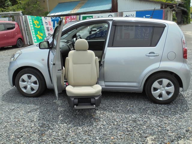 パッソ G 福祉車両助手席リフトアップシート ナビ(トヨタ)【評価書付】【中古】