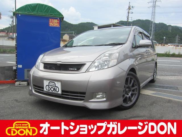 アイシス プラタナ Gエディション 4WD Tチェーン HDDナビ(トヨタ)【中古】