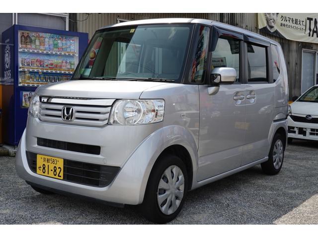 N-BOX+ G 軽自動車 ETC カトラリーシルバーメタリック CVT(ホンダ)【中古】