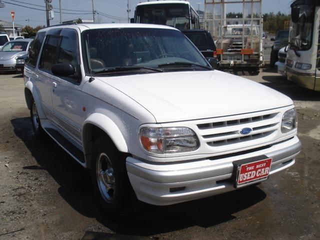 フォード エクスプローラー リミテッド 4WD サンルーフ レザーシート(フォード)【中古】