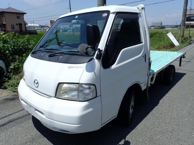 ボンゴトラック ロングワイドローDX ディーゼル ETC 1000kg(マツダ)【中古】
