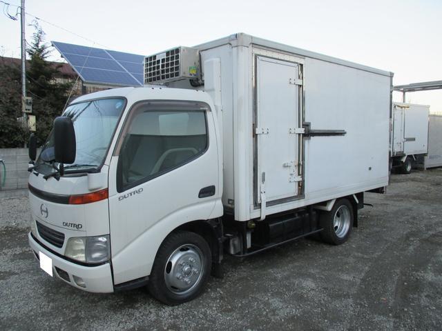 デュトロ 2t標準セミロング 冷蔵冷凍車 低温 サイドドア 低床(日野)【中古】