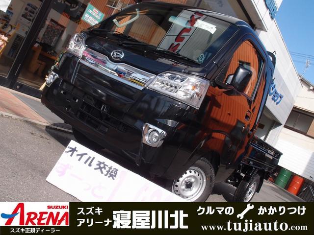 ハイゼットトラック ジャンボ 4AT LEDヘッドABSメッキグリル荷台作業灯(ダイハツ)【中古】