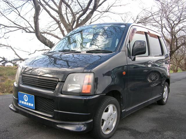 ワゴンR FMエアロ CDMD キーレス 13インチアルミ 軽自動車(スズキ)【中古】