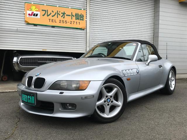 BMW Z3ロードスター 2.8 ロードスター オープン 純正アルミ レザーシート(BMW)【中古】