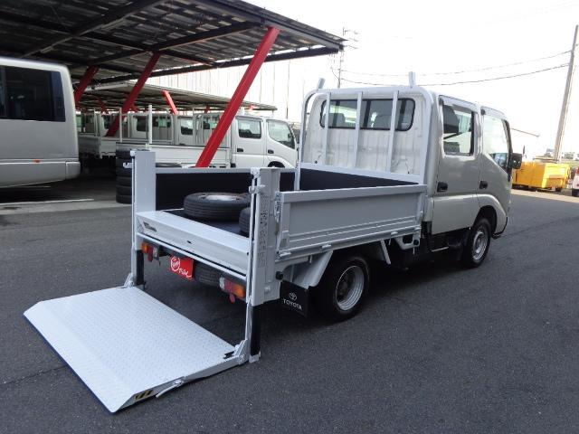 ダイナトラック Wキャブ 1.1トン 垂直パワーゲート(トヨタ)【中古】