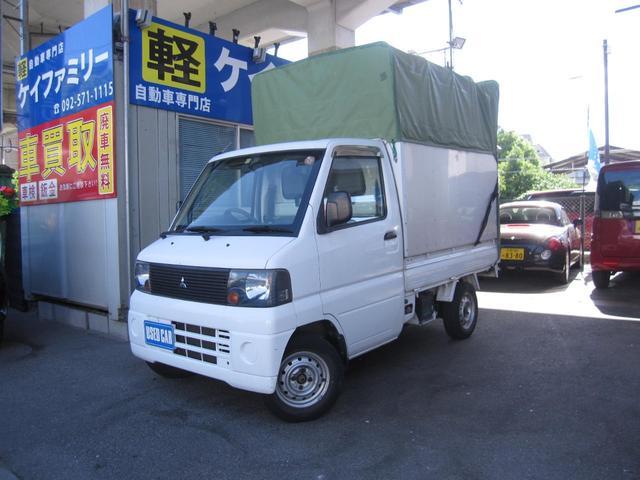 ミニキャブトラック VX宅配仕様オープンライナーエアコン(三菱)【中古】
